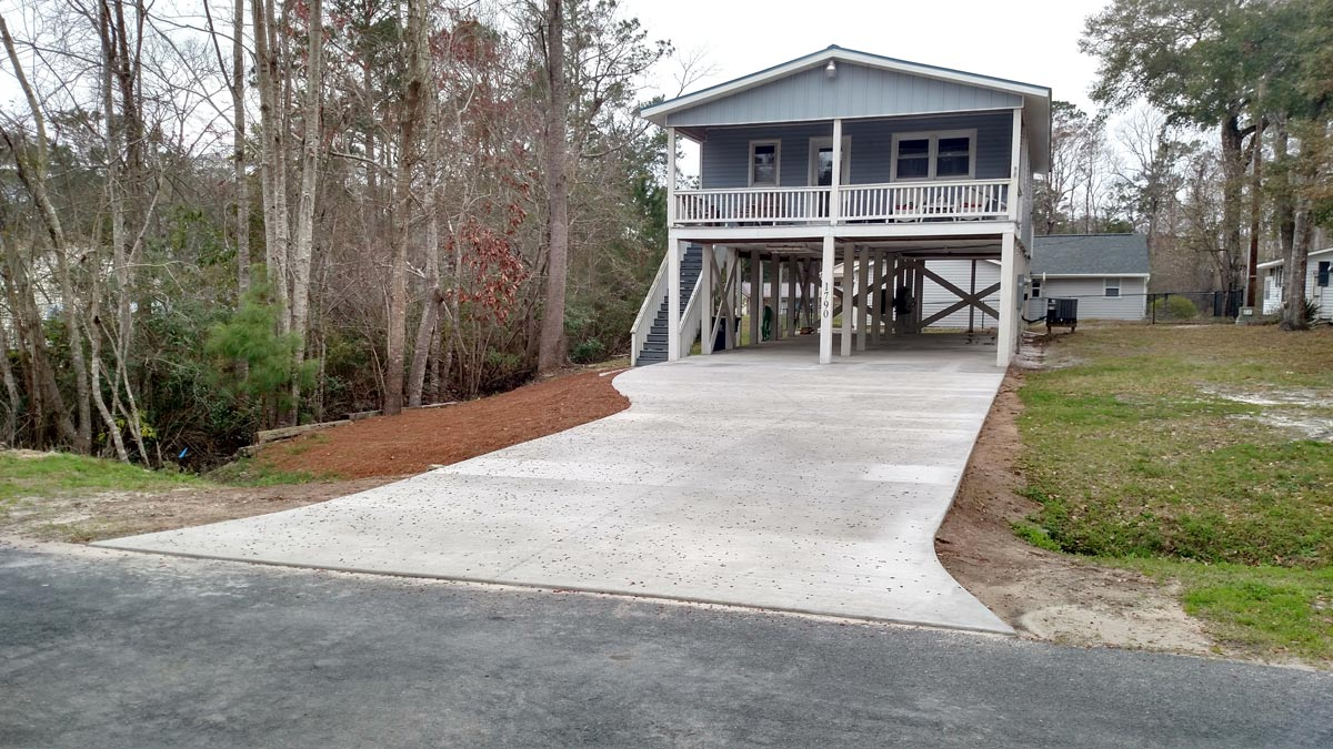 Myrtle Beach Concrete | Residential Concrete Pouring | Turn